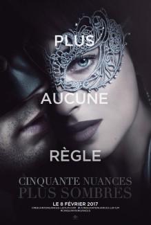 Affiche du film Cinquante Nuances Plus Sombres