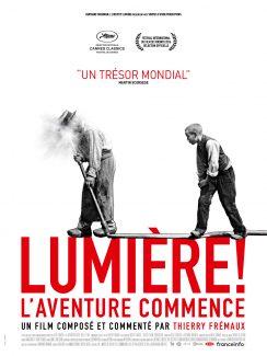 Affiche du film Lumiere L'Aventure Commence
