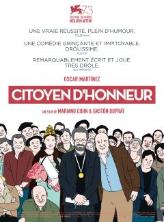 Affiche du film Citoyen D Honneur