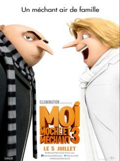 Affiche du film Moi Moche Et Mechant 3
