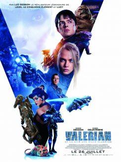 Affiche du film Valerian Et La Cite Des Mille Planetes
