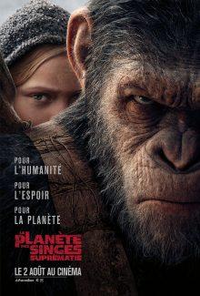 Affiche du film La Planete Des Singes Suprematie