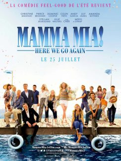 Affiche du film Mamma Mia Here We Go Again