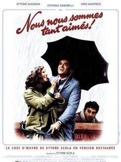 Affiche du film Nous Nous Sommes Tant Aimes